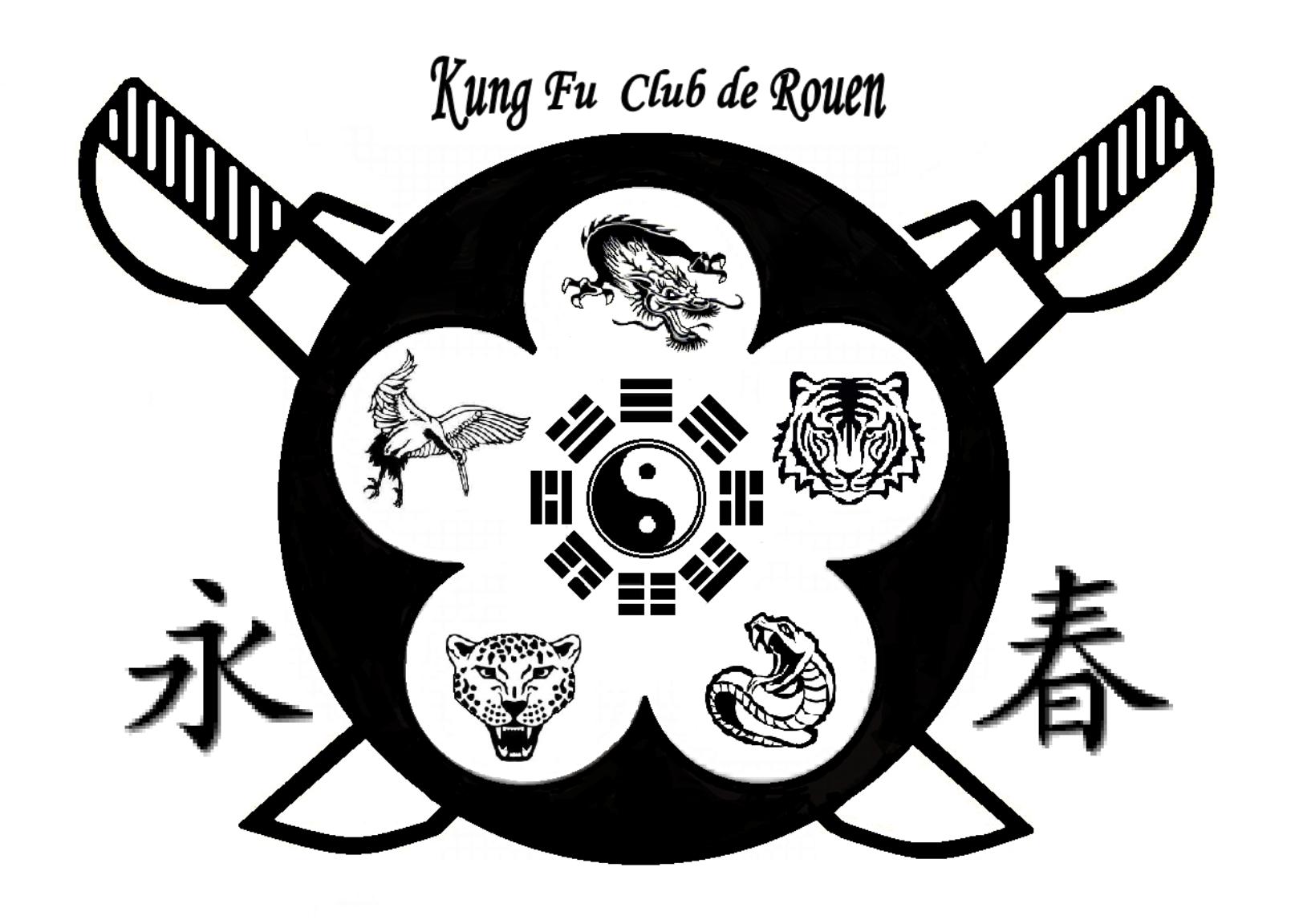 Logo kung fu rouen